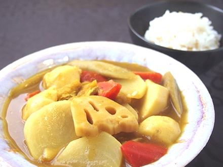 大和根菜カレー