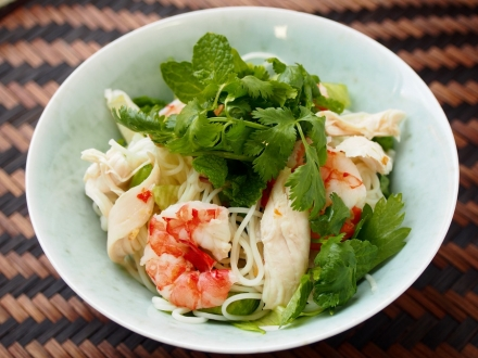 ベトナム風サラダ素麺